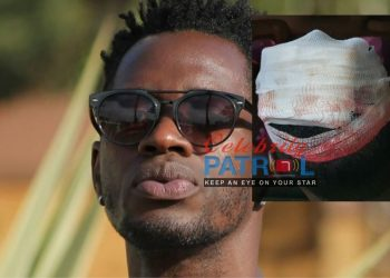 Nubian Li hit by a teargas canister