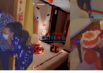 Hamza Sebunya Surprises Rema with a Bed of Roses for Valentines Day (VIDEO)