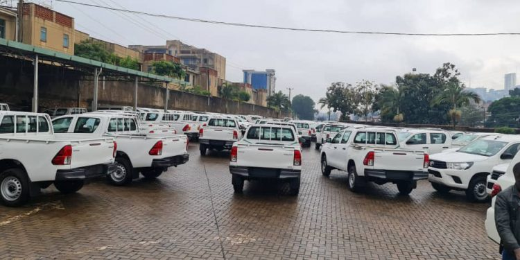 Ministry of Health Purchases 282 Cars